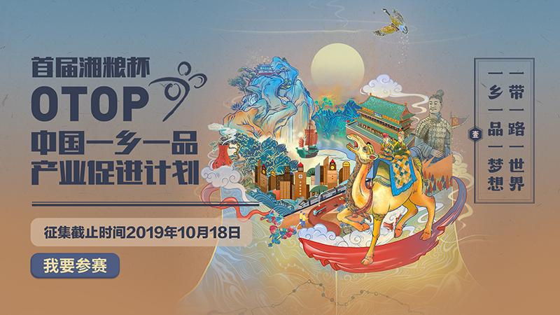 """首届""""湘粮杯""""中国一乡一品产业设计大赛"""