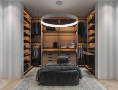 40款豪华实用的步入式衣柜设计