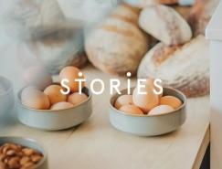 Stories咖啡館品牌形象設計