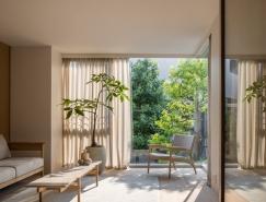 东京Kinuta花园住宅设计