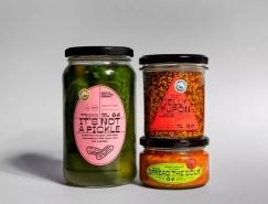 Bartosz Ferments发酵食品标签和包装设计