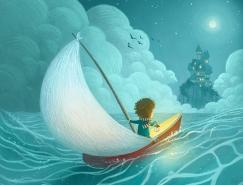 Ramona Kaulitzki可爱的儿童插画作品
