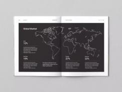 画册中的地图版面设计
