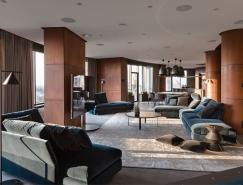 丰富的纹理创造连贯的空间流:Yogo住宅空间畅博官网手机app