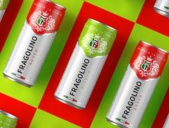 Fragolino罐装甜酒包装设计