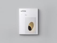 WHITE杂志版式和品牌视觉设计