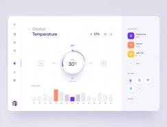 25款漂亮的旋钮元素UI设计