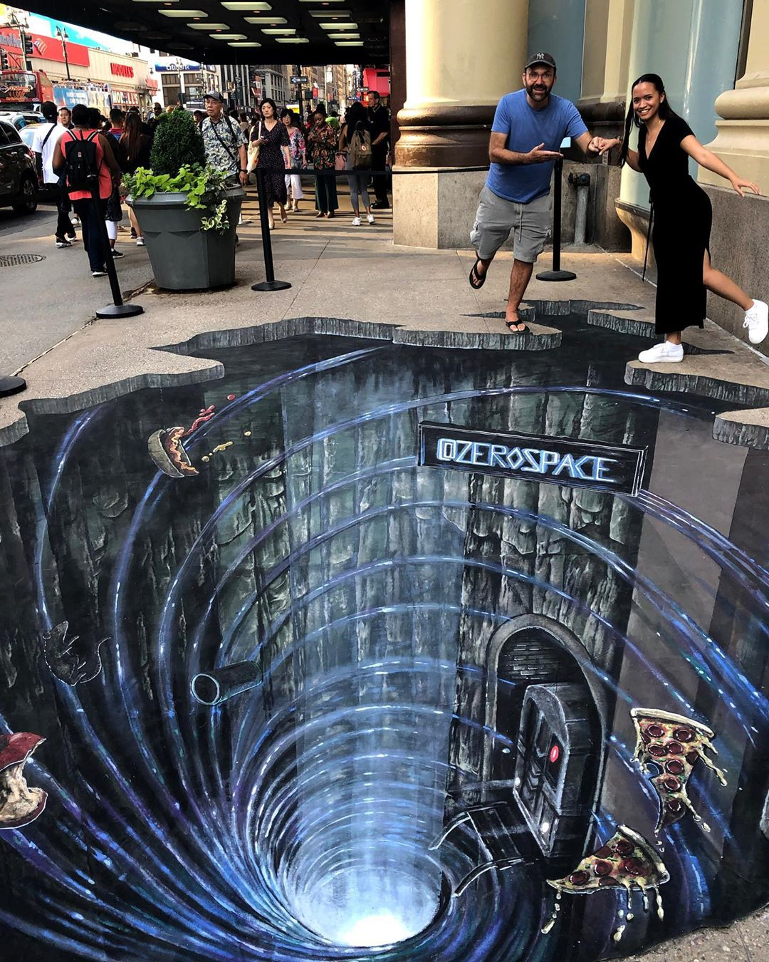 Joe&Max极具视觉冲击力的街头3D艺术画作