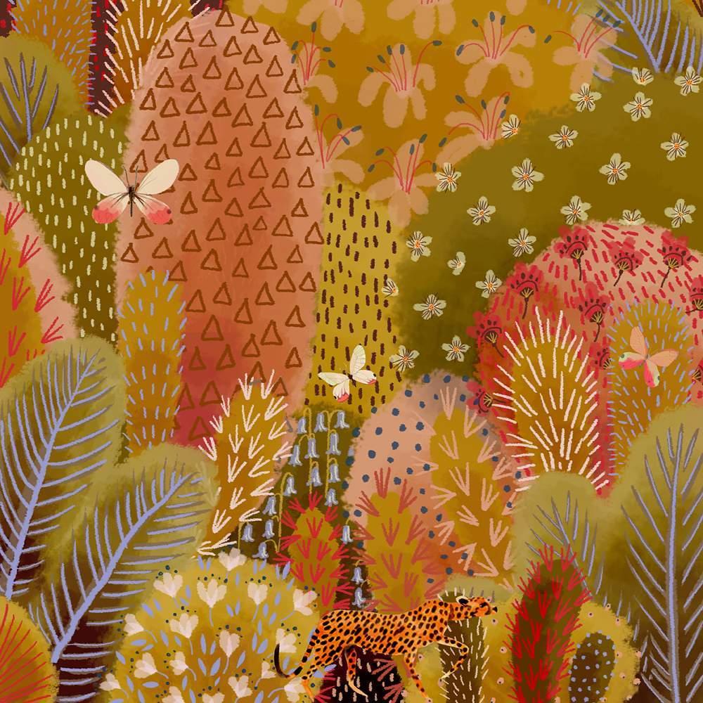 英国Jane Newland风景插画欣赏