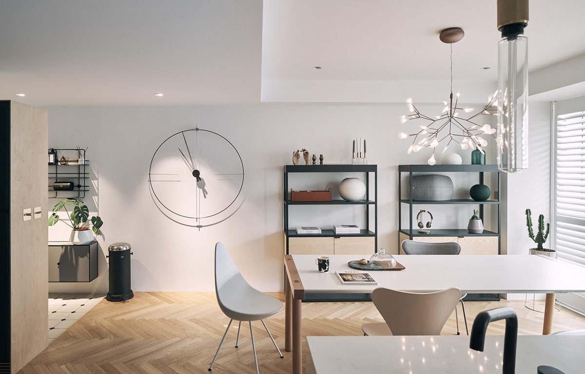 3个极简的北欧风格室内装修设计