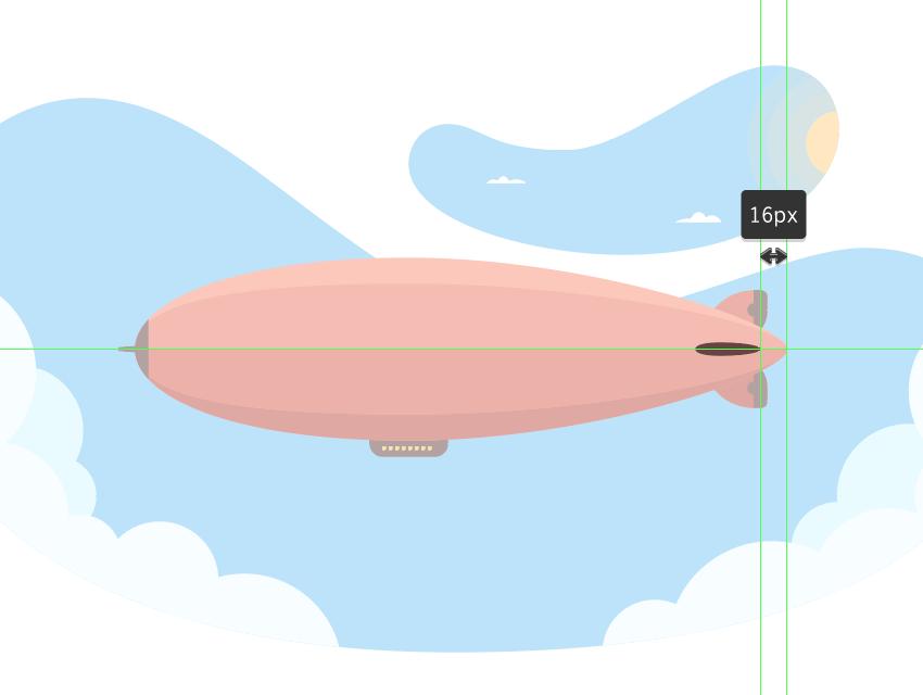 AI绘制热气球插画教程