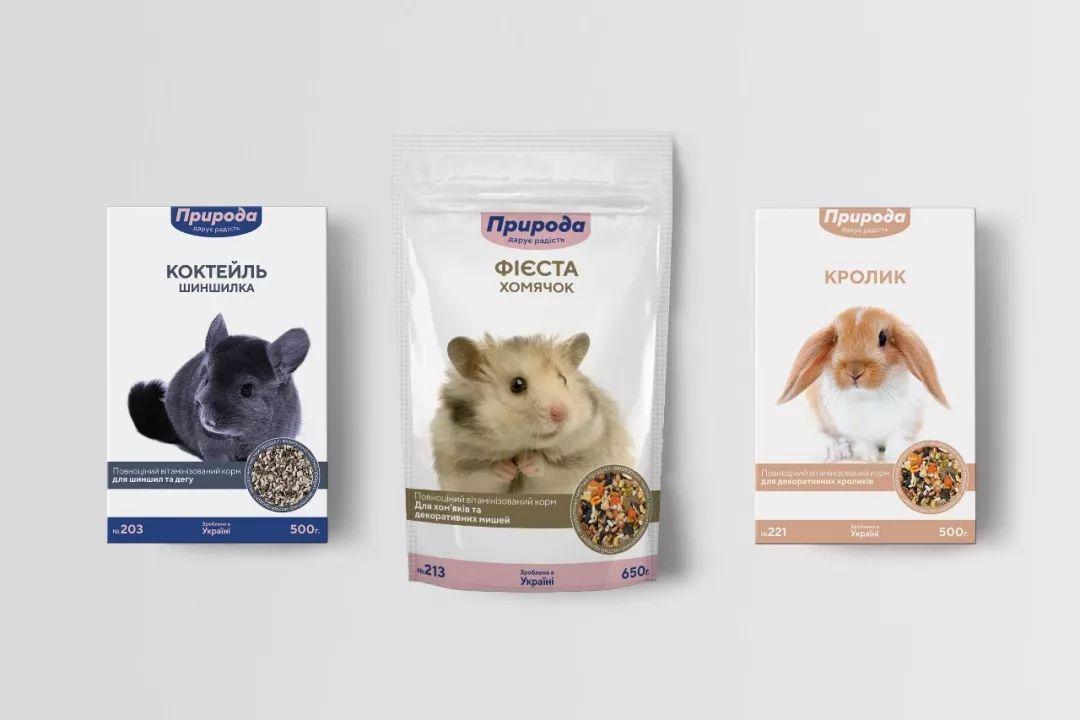 宠物粮品牌Priroda视觉形象365bet官网