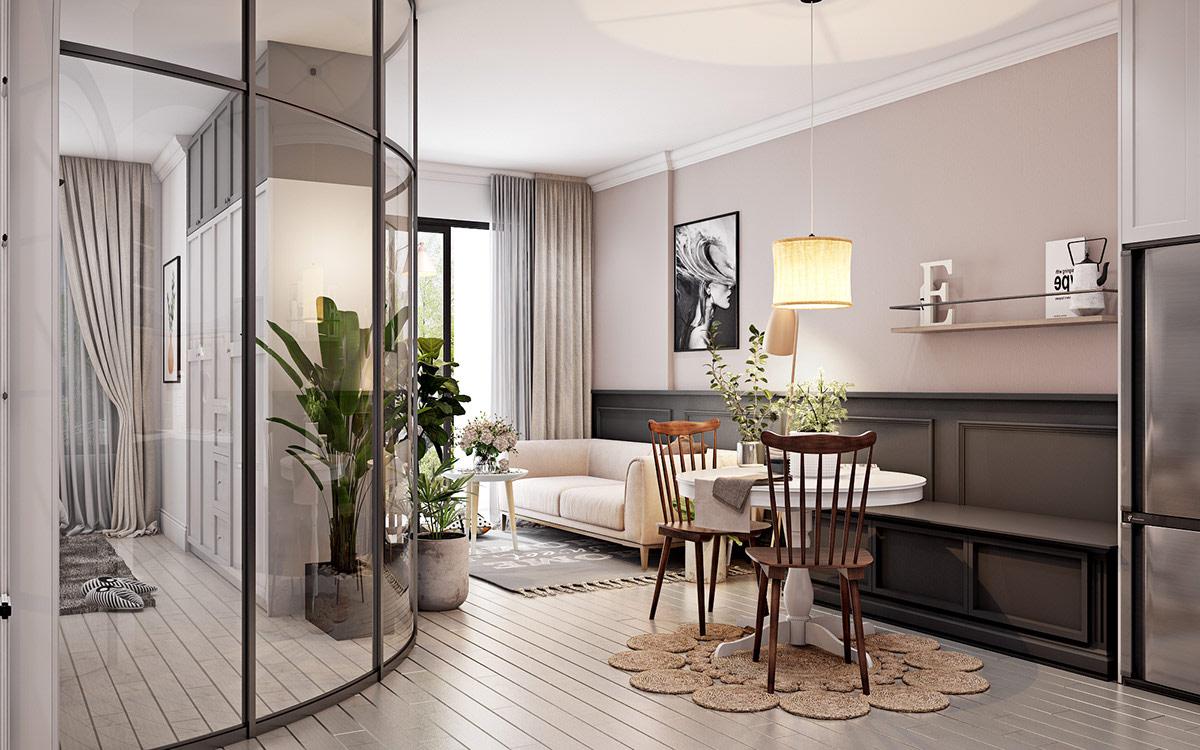 4个简洁精致的小户型公寓