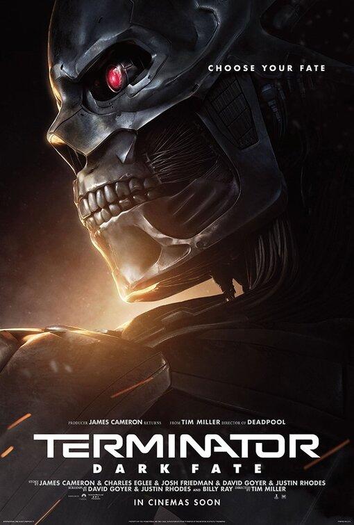 电影海报欣赏:终结者:黑暗命运