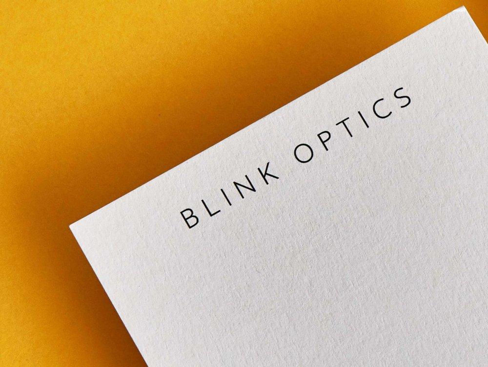Blink眼镜光学品牌视觉设计