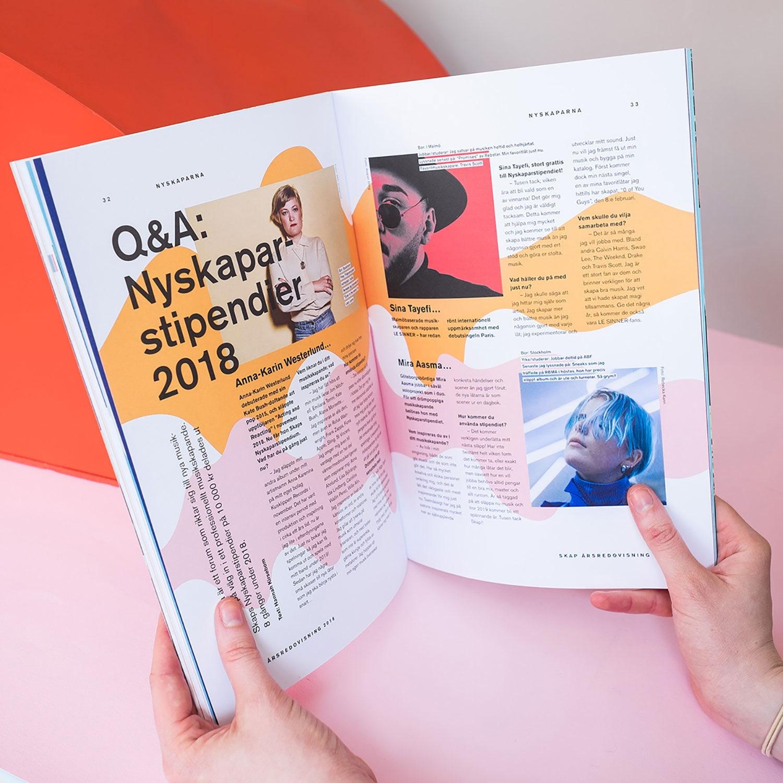 Skap年报画册设计