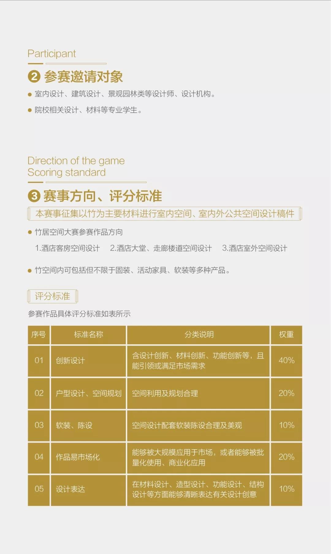 【作品征集延期公告】2019國際(永安)竹居空間設計大賽