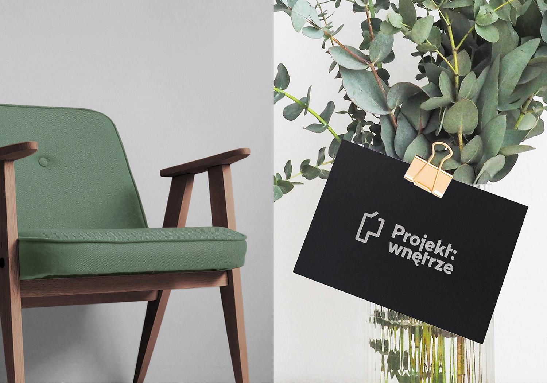 室内设计品牌Projekt: wntrze视觉形象设计