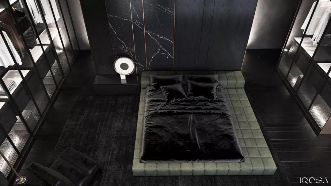 暗黑系奢华黑色住宅