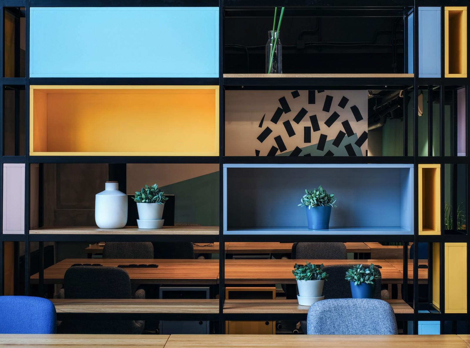 圣彼得堡Workki联合办公空间设计