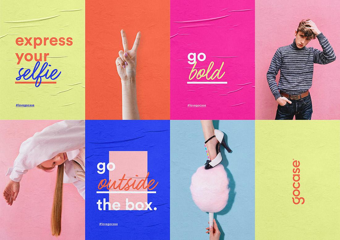 iphone配件品牌Gocase视觉识别设计