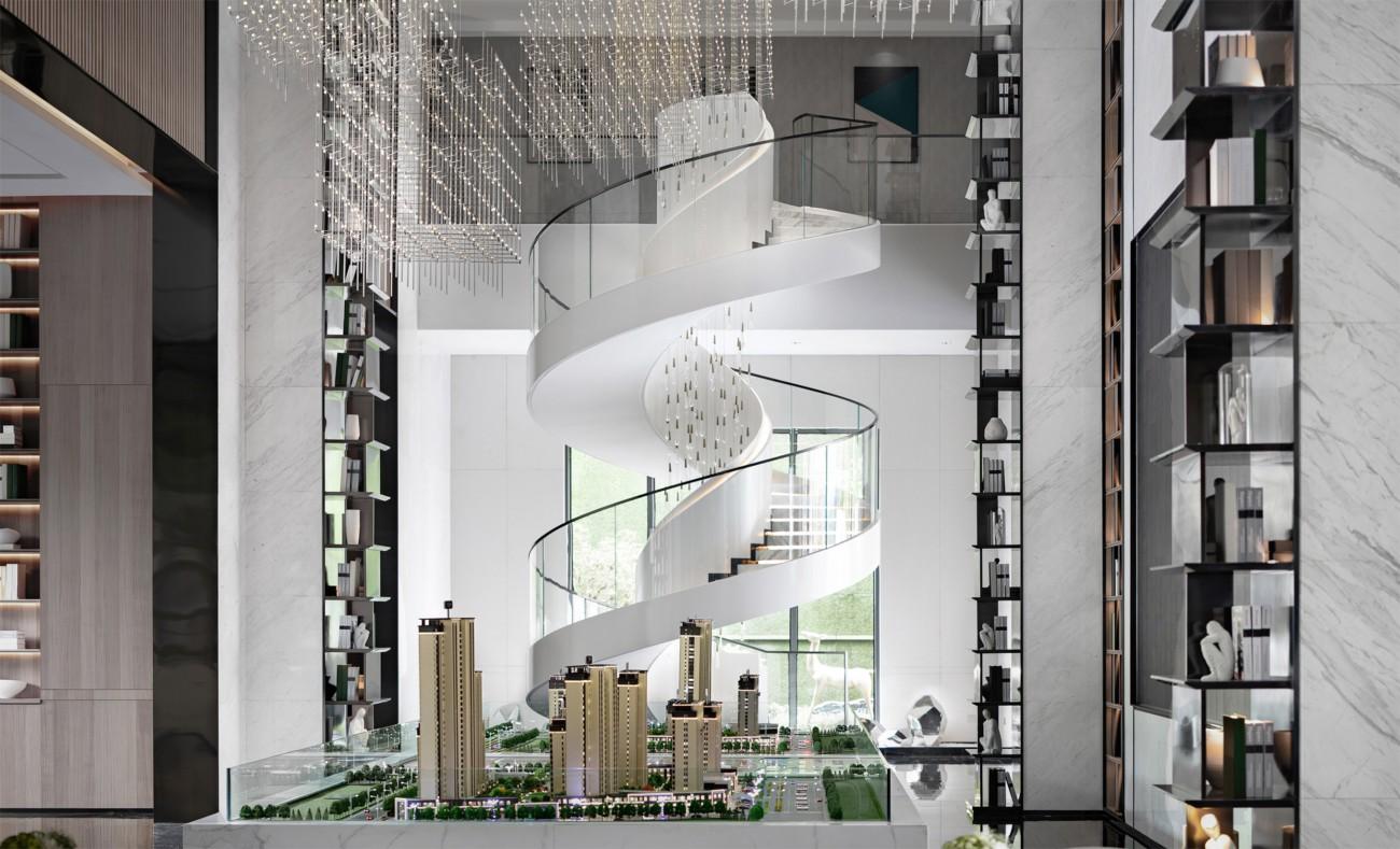 哈尔滨保利天悦售楼处和样板间设计
