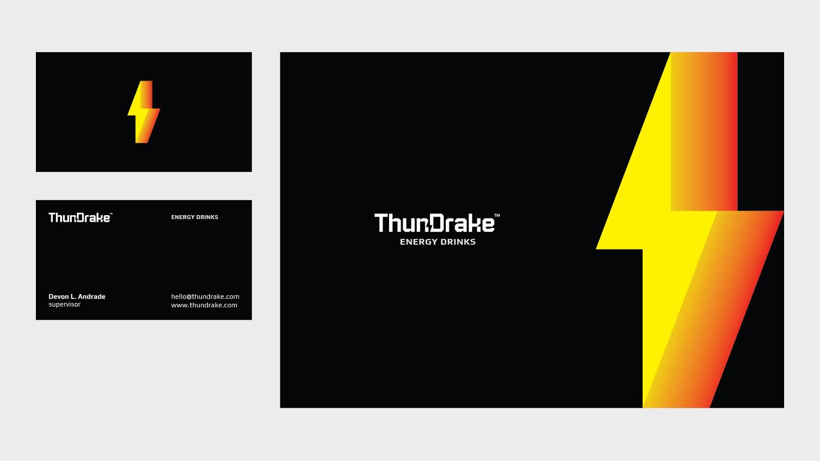 ThunDrake能量饮料概念包装365bet官网