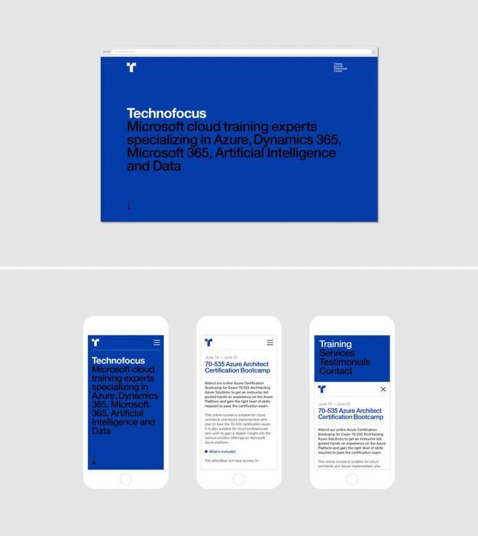 Microsoft IT培训服务公司Technofocus品牌识别365bet官网