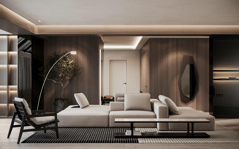 一家四口的温馨居所:乌克兰现代时尚公寓