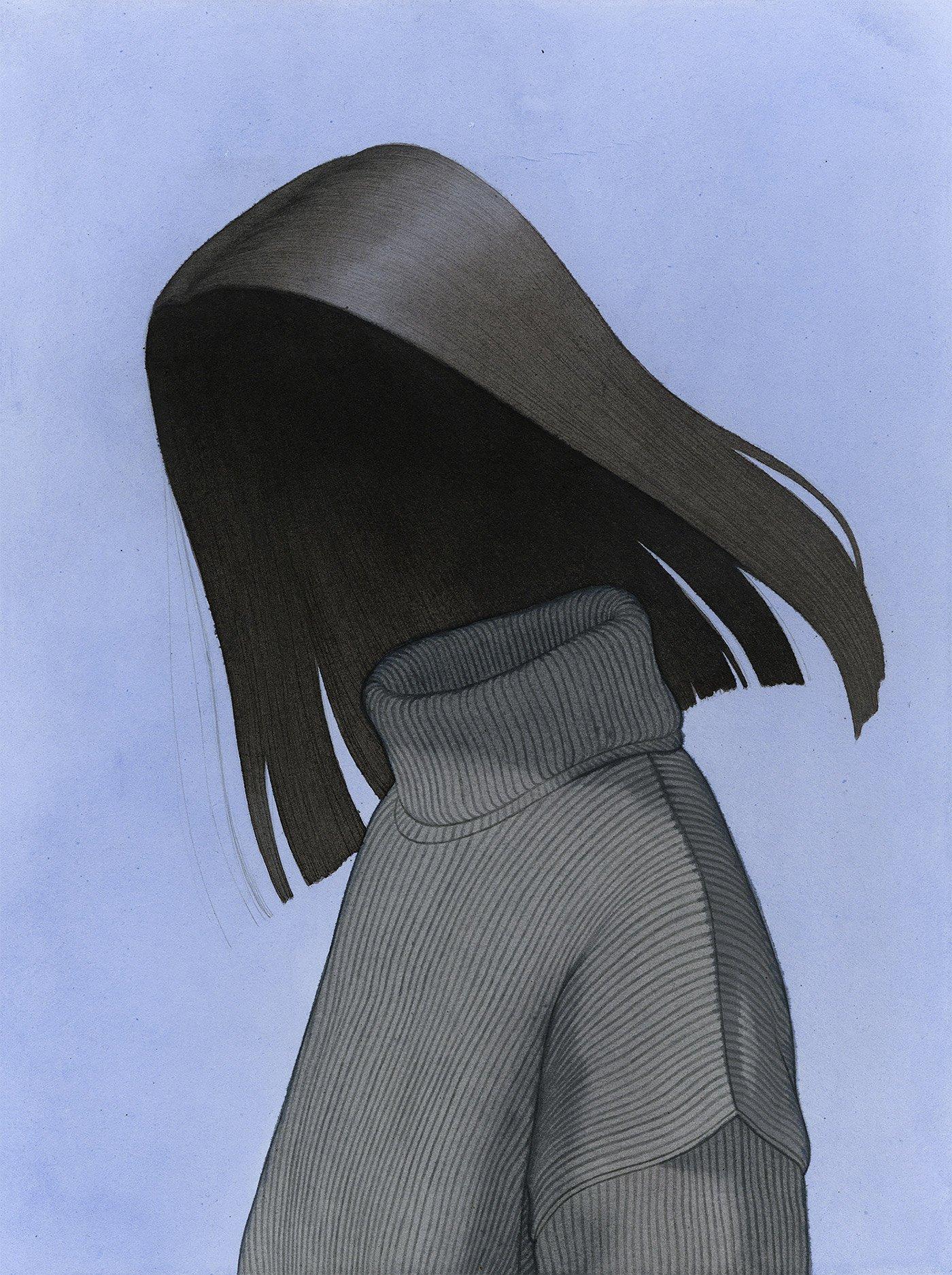 黑暗@ 孤寂的氛围:Leonardo Santamaria插画作品欣�赏