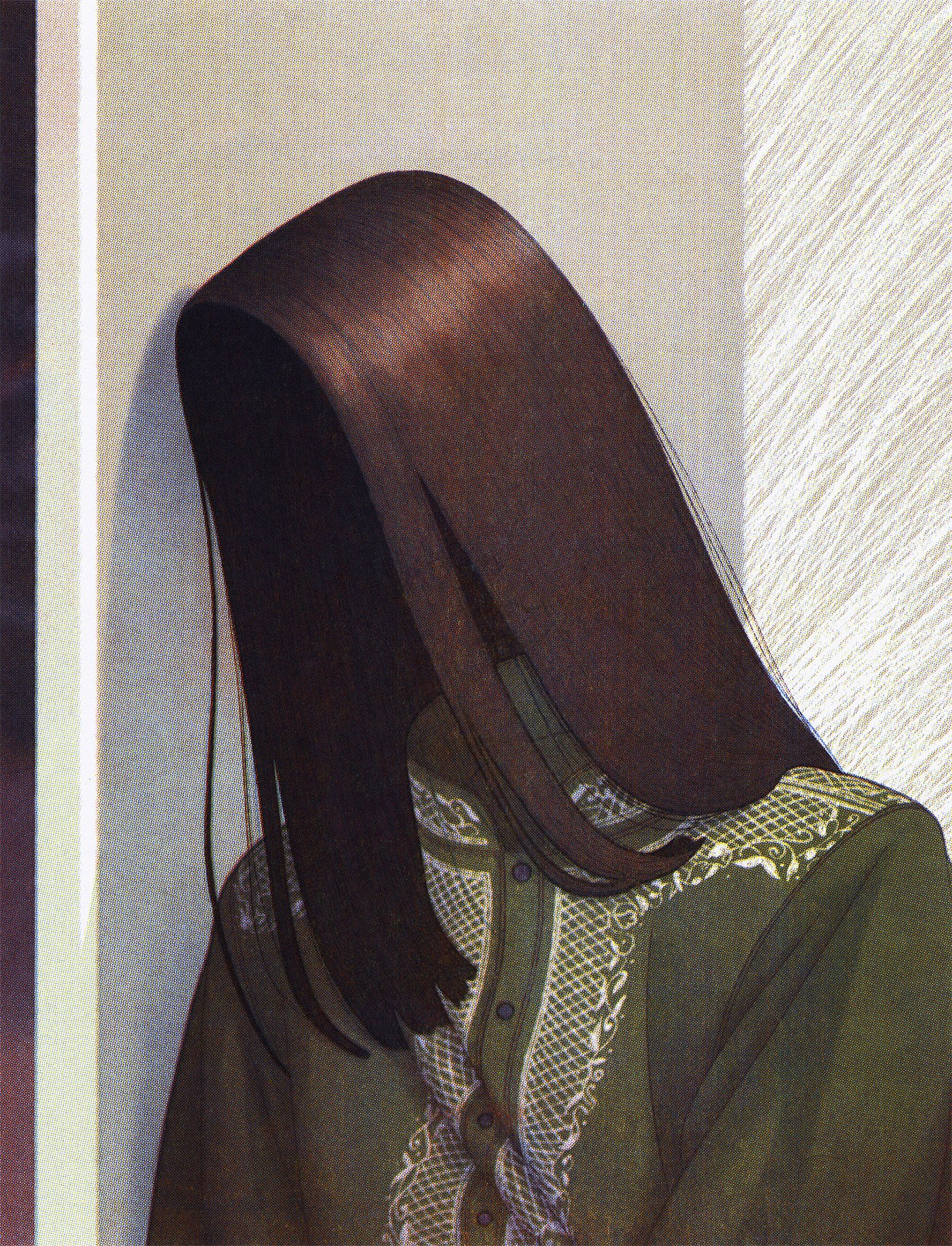 黑暗孤寂的♀氛围:Leonardo Santamaria插画作※品欣赏