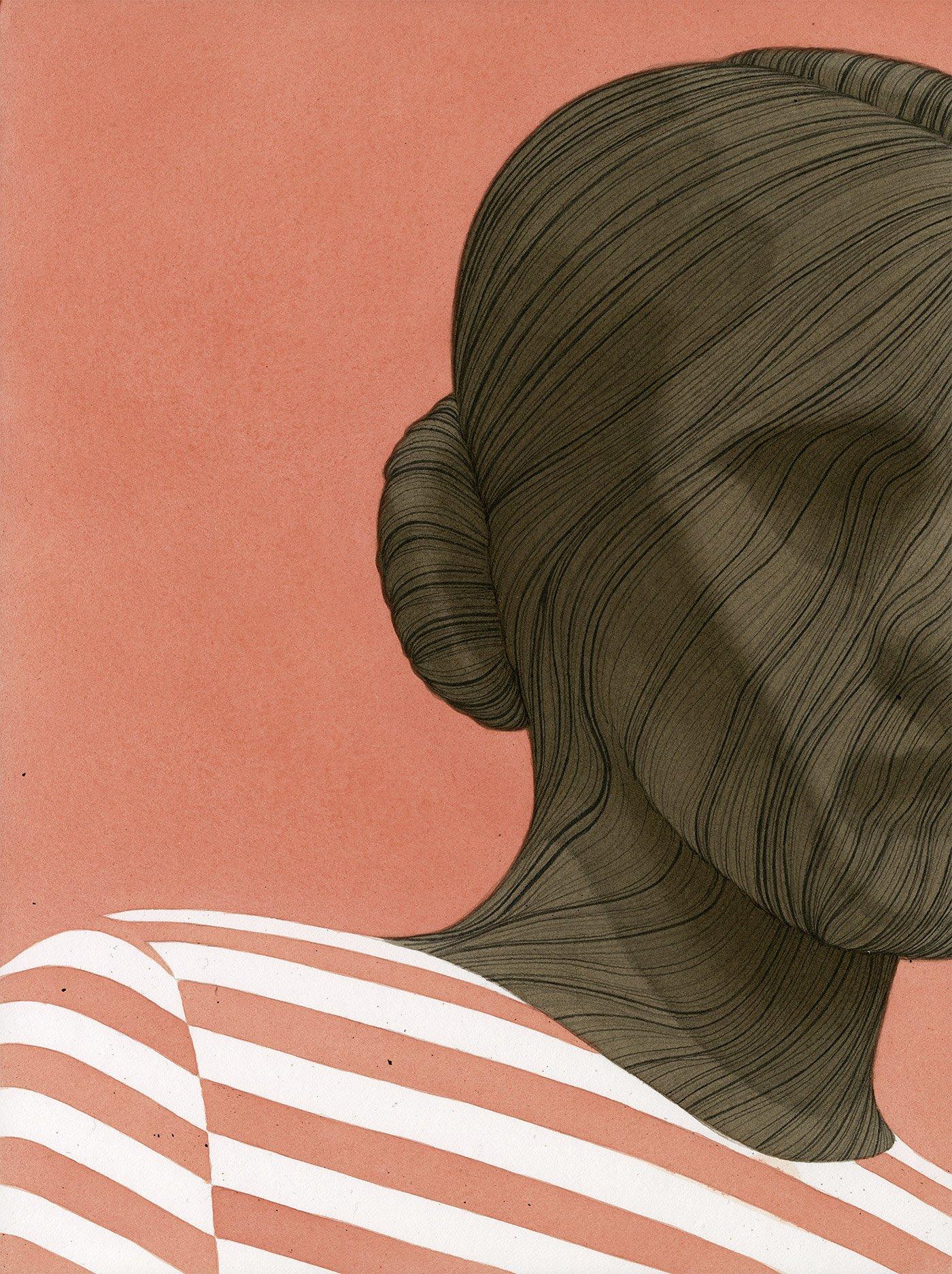 黑�暗孤寂的氛围:Leonardo Santamaria插画作品□ 欣赏