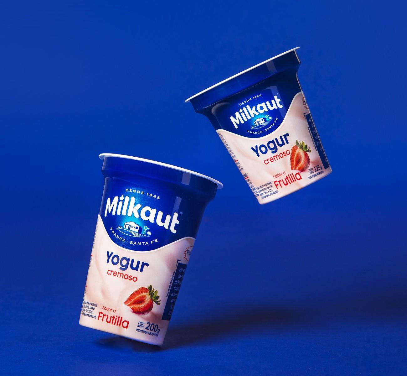 Milkaut酸奶包装设�计