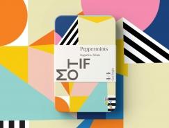 精致的色彩和图案:Motif薄荷糖包装设计