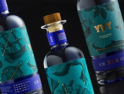 Yvy Mar酒品牌和包装设计