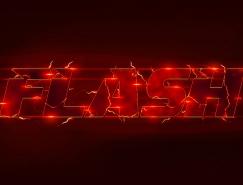 PS打造时尚炫酷的雷电文字效果