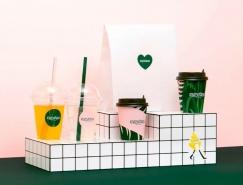 色彩丰富的饮品店品牌VI设计