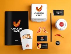 Chicken Cafe炸雞快餐品牌形象設計