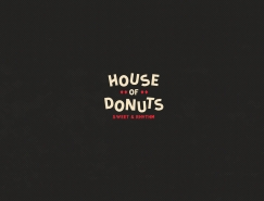 House of Donuts甜甜圈品牌VI設計