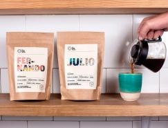 La Noria咖啡品牌和包裝設計