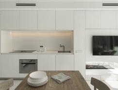 巴塞罗那纯净白色海边公寓
