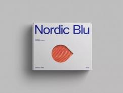 Nordic Blu三文魚品牌包裝設計