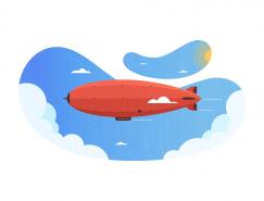 AI繪製熱氣球插畫教程
