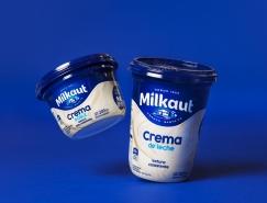 Milkaut酸奶包装设计
