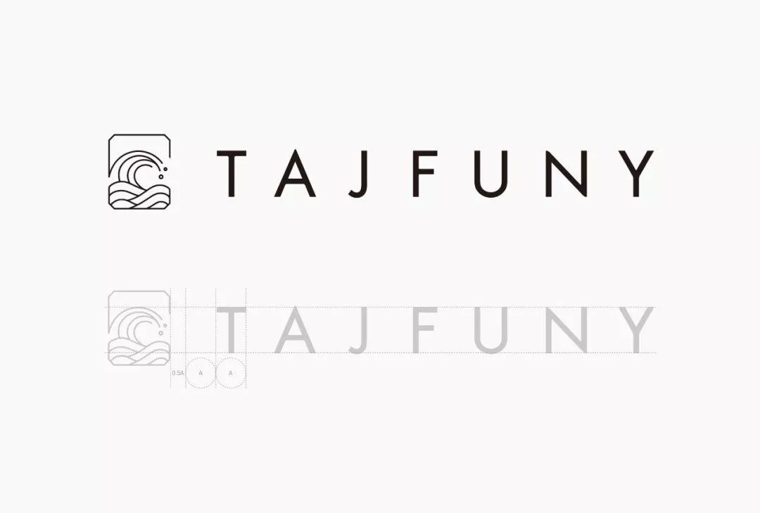 出版商和书店品牌TAJFUNY视觉形象设计