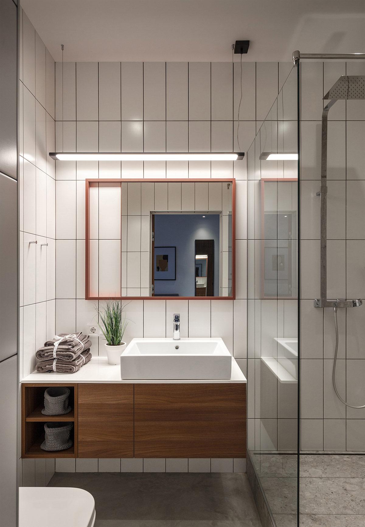 木质和混凝土融合 工业风的时尚小公寓