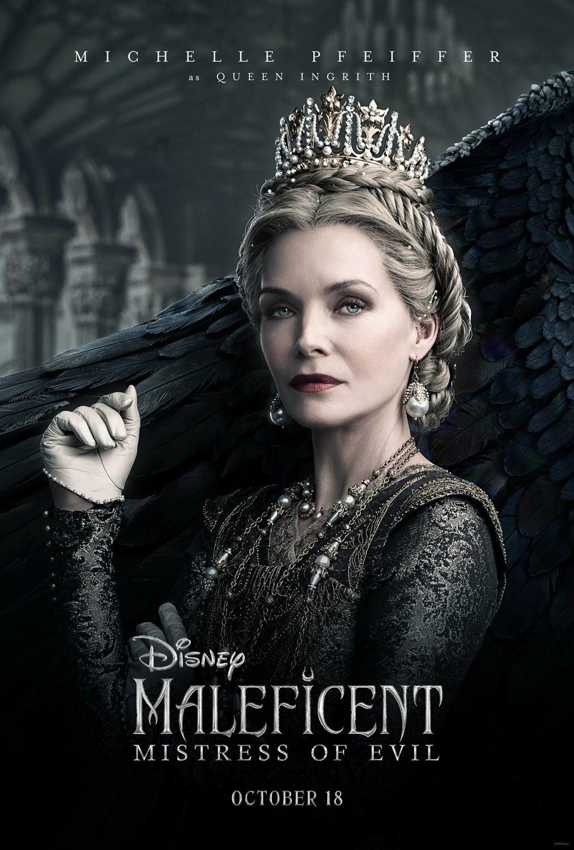 电影海报欣赏:沉睡魔咒2(Maleficent: Mistress of Evil)