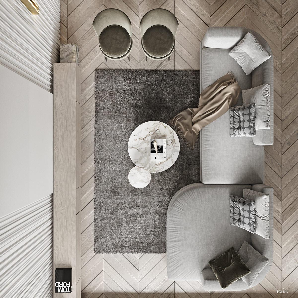 莫斯科简洁大气的现代豪宅澳门金沙网址