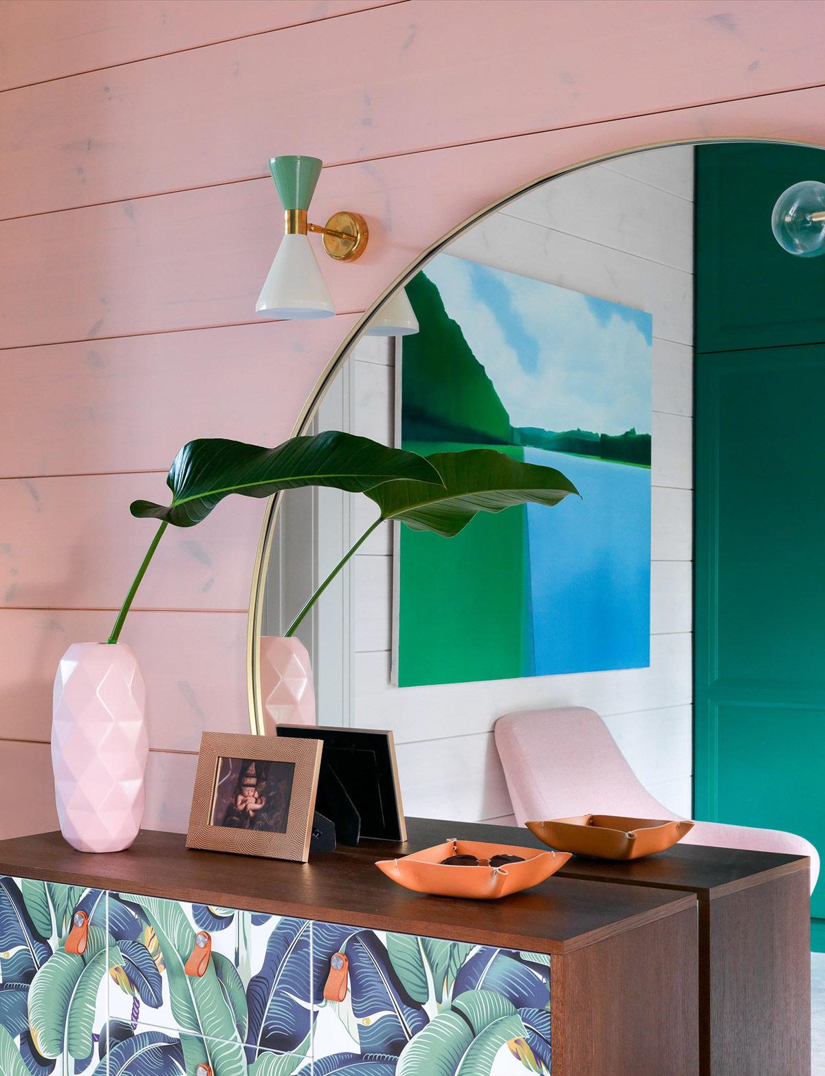 充满了色彩和现代感 夺人眼球的豪华住宅设计