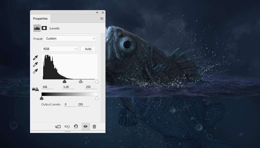 Photoshop合成超现实风格的海洋图片